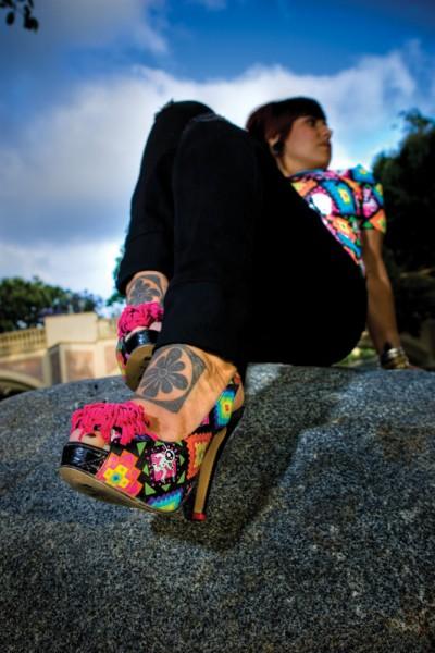 Boty na vysokém podpatku (http://www.blackstyle.cz)